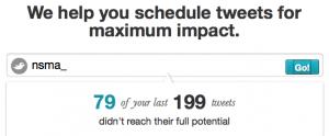 Maximale impact van Tweets op Twitter