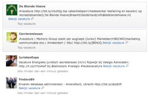Vacaturetweeter.nl Vacatures
