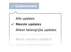 Verfijn je Facebook nieuwsoverzicht