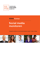 Doelgericht monitoren via social media (Facebook, LinkedIn, Twitter en blogs)