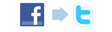 Koppel je Facebook profiel of bedrijfspagina aan Twitter