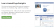 Facebook Page Insights training