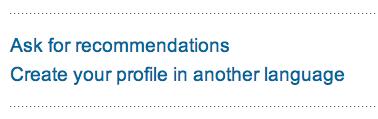 Maak je LinkedIn profiel in een andere taal