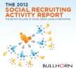 The 2012 Social Recruiting Activity Report - NSMA