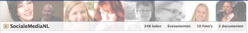 Nieuwe omslag van Facebook groepen