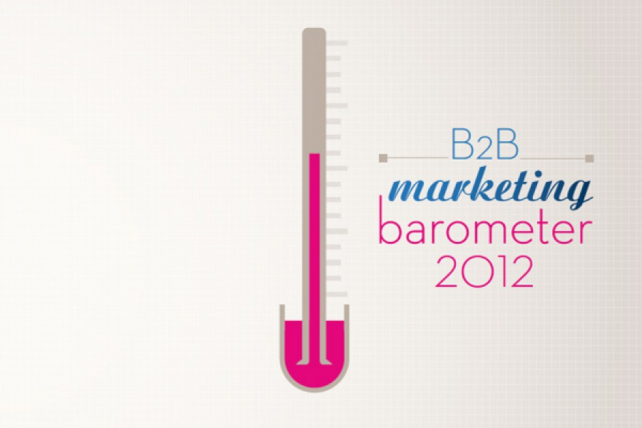B2B Marketing Barometer 2012