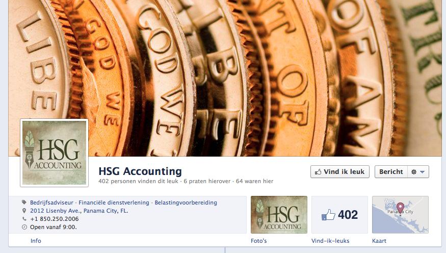 Een omslagfoto op je Facebook bedrijfspagina