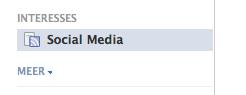 Vind de Facebook Interesse Lijsten in het nieuwsoverzicht