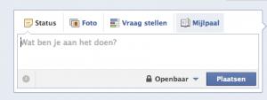 Een Mijlpaal toevoegen aan je Facebook bedrijfspagina