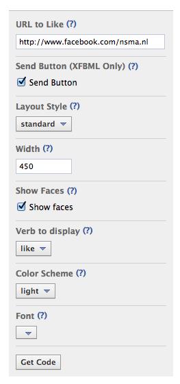 Maak een Like-knop voor je Facebook bedrijfspagina