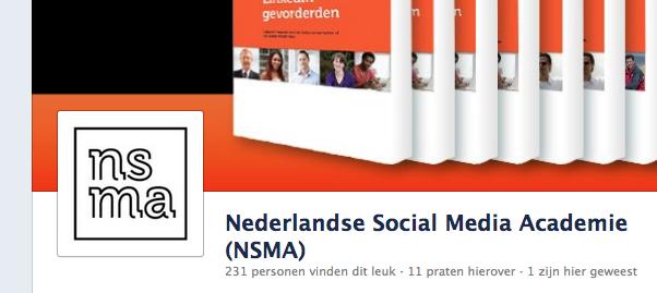 Profielfoto op een Facebook bedrijfspagina