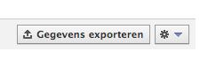 Statistieken exporteren Facebook