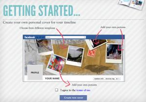 Start met het maken van een nieuwe Facebook omslagfoto