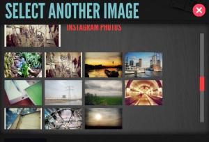 Kies een afbeelding uit je Facebook albums