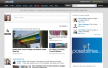 LinkedIn Homepage - New design