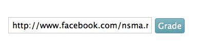 Voer de link naar de Facebook bedrijfspagina in