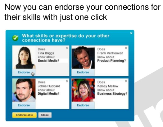 how to get endorsements in linkedin