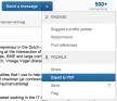 LinkedIn profiel opslaan als PDF - nsma