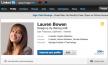 LinkedIn - nieuw profiel
