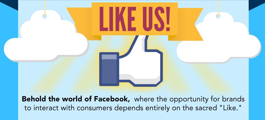 De reden waarom mensen een merk volgen via Facebook