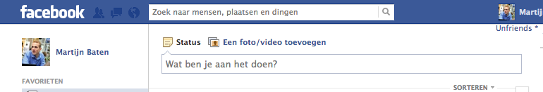 Facebook Vragen niet meer beschikbaar voor persoonlijke profielen