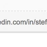 URL LinkedIn profiel