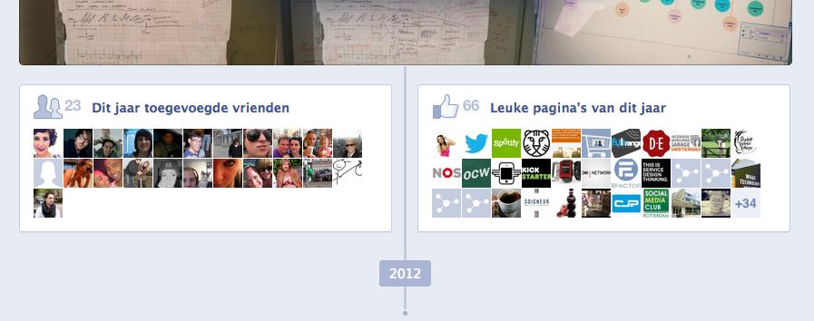 Bekijk je eigen Facebook jaaroverzicht