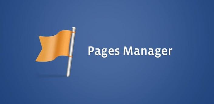 Facebook Paginabeheer app