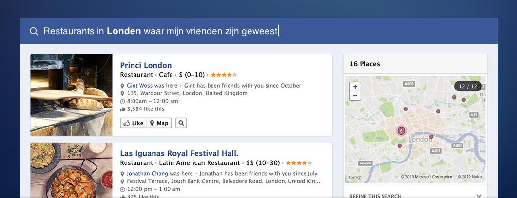 Facebook Graph Search