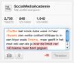 Twitter maakt klikbare content en karakterlimieten zichtbaar in tweets
