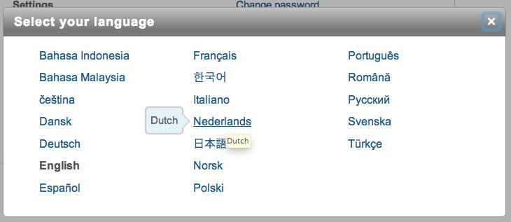 LinkedIn - Nederlandse taal