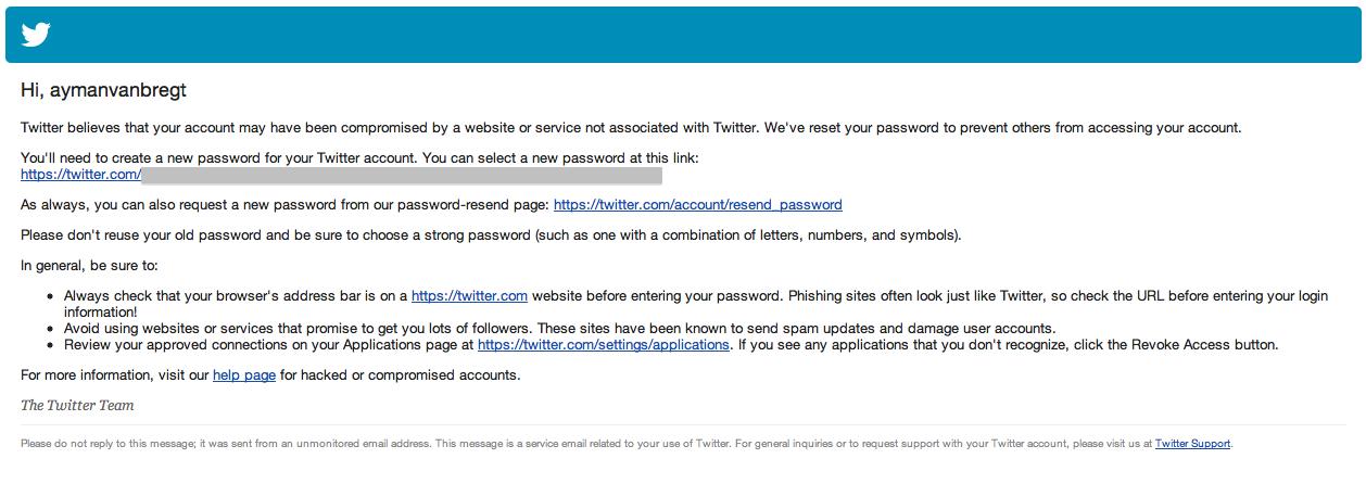 Twitter maatregelen na hack-aanval