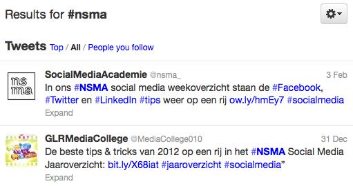 Twitter toont oude tweets in zoekresultaten