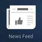 Facebook nieuwsoverzicht