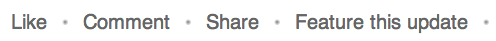 statusupdate delen - LinkedIn bedrijfspagina