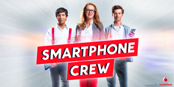 vodafone smartphone crew logo