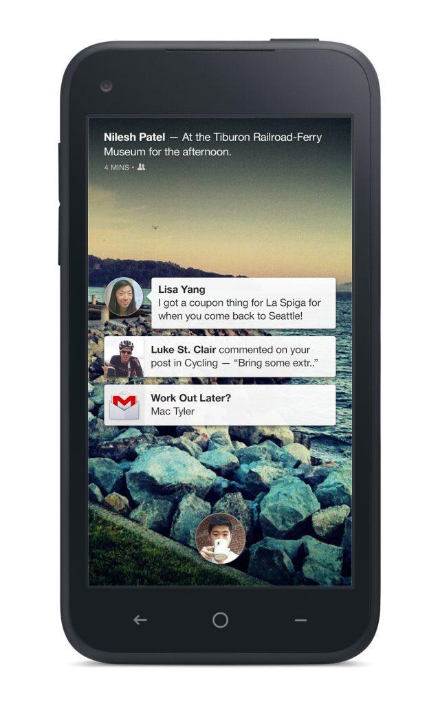 Facebook Home Meldingen