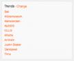 Twitter trending topics beschikbaar op meer dan 160 locaties