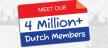 4 Miljoen Nederlanders op LinkedIn