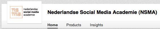 LinkedIn bedrijfspagina menu opties