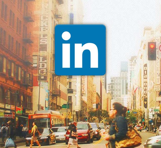 LinkedIn mobiele applicatie
