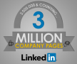 3 miljoen LinkedIn bedrijfspagina's