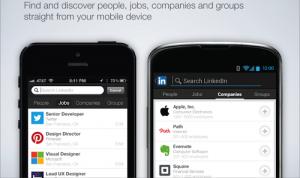 Eenvoudig mobiel solliciteren via LinkedIn mobiel