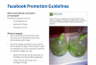 Facebook Promotion Guideliness