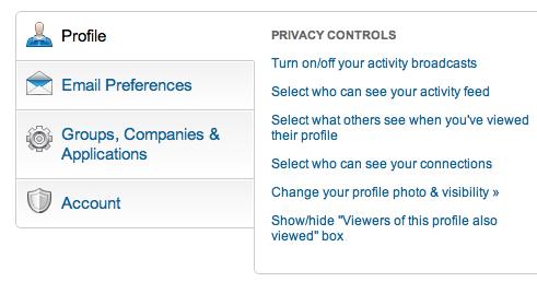 LinkedIn anoniem gebruiken om een baan te vinden