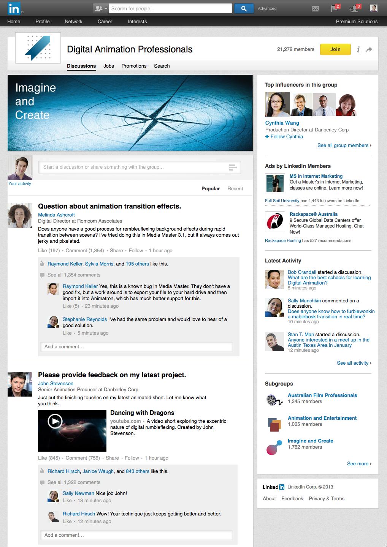 LinkedIn introduceert nieuw uiterlijk voor LinkedIn Groepen
