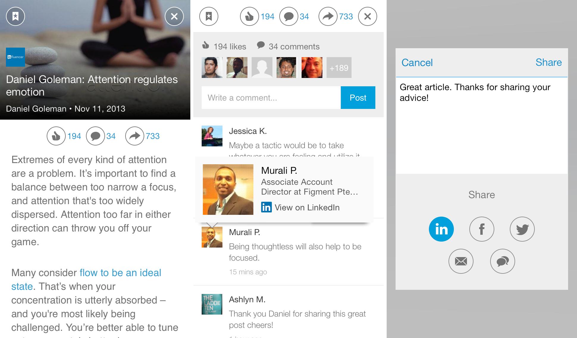 Betere nieuwservaring door vervanging van LinkedIn Today voor LinkedIn Pulse - beleving