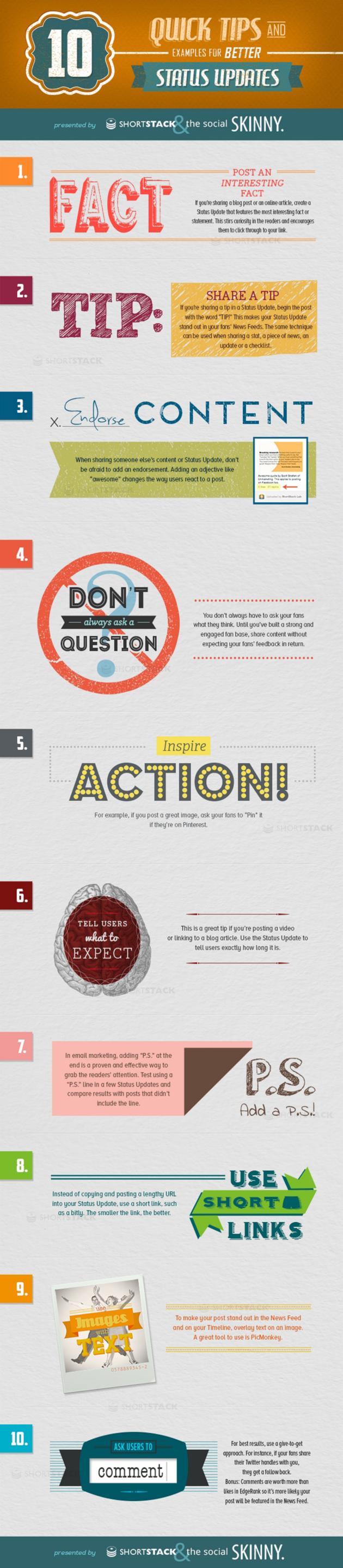 Infograpic_10 tips voor betere interactie op Facebook