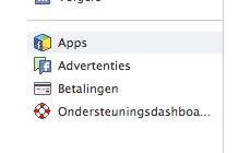 Kies voor 'Apps'