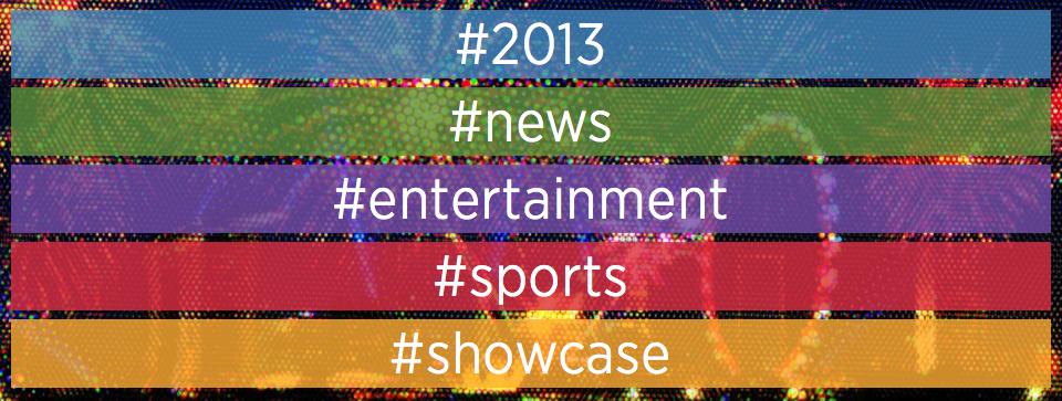 De Twitter-hoogtepunten in het jaaroverzicht van 2013